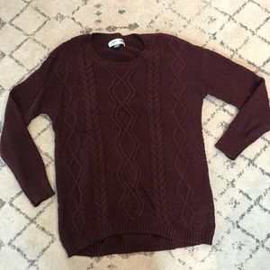 🎀2/$25🎀 Old Navy Maternity Cable Knit Sweater
